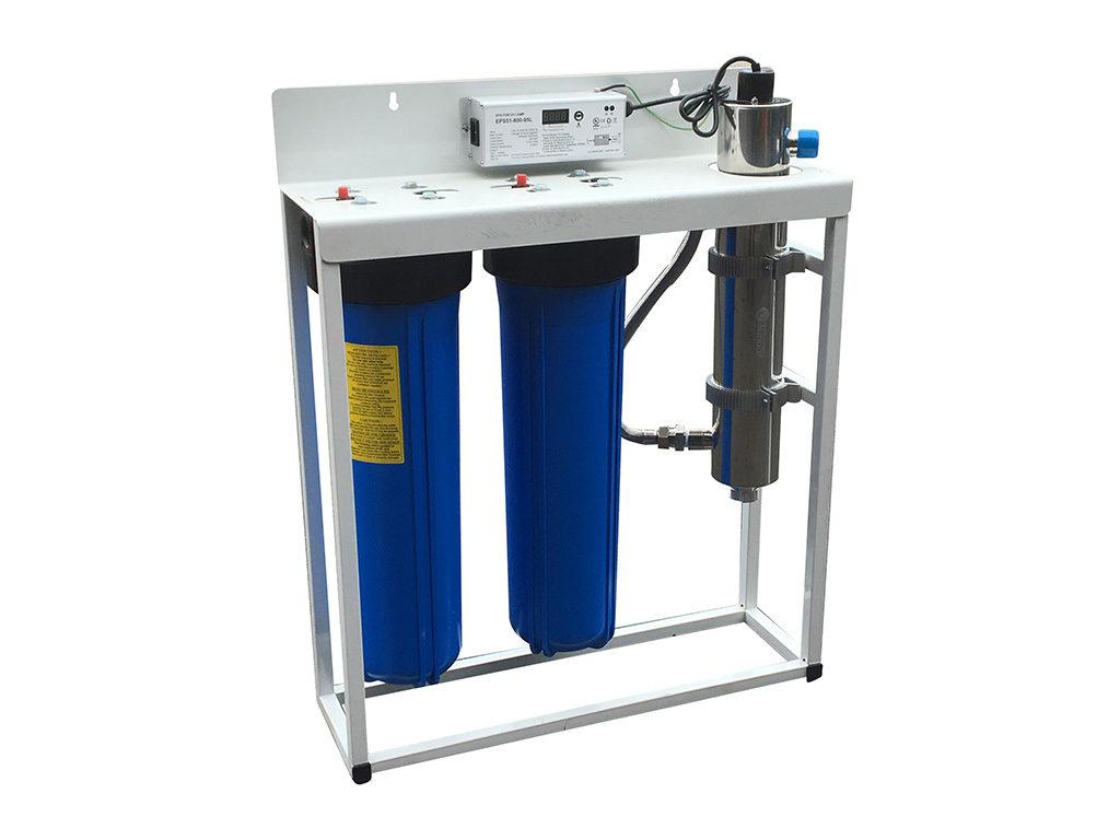 Premium UV house filter system